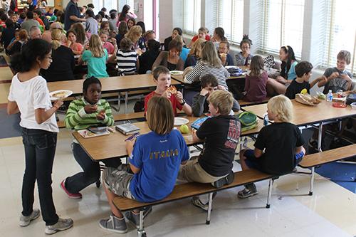 School cafeteria 21